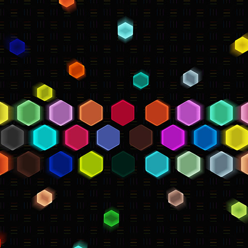 Hexagon Blur