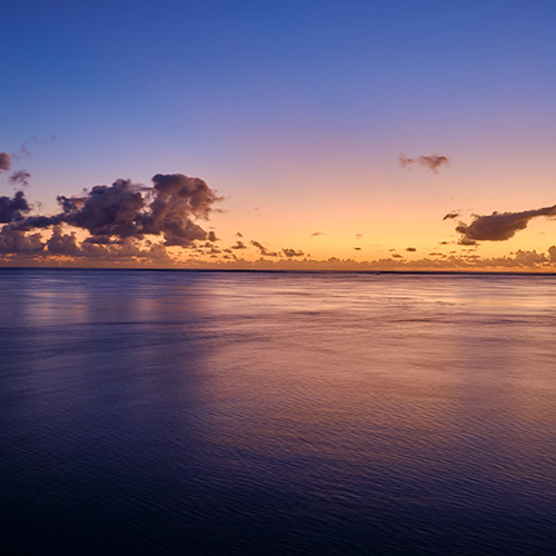 Mauirtius Ocean Sunset